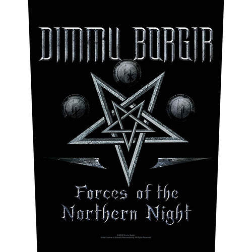 Dimmu Borgir Back Patch: Forces of the Northern Night (Loose)