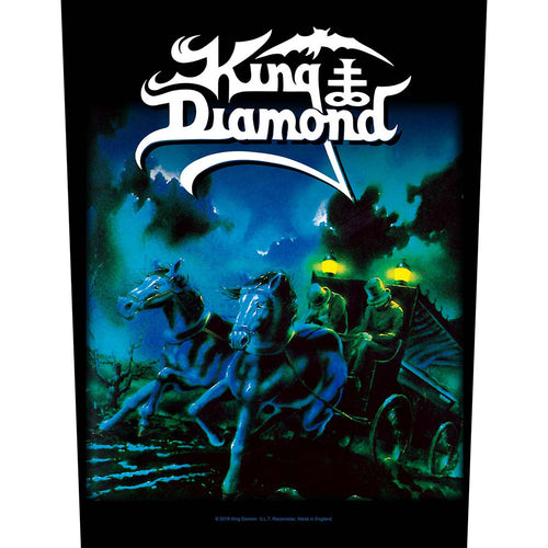 King Diamond Back Patch: Abigail