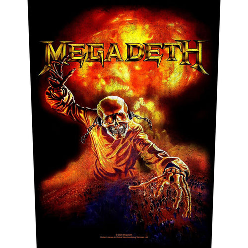 Megadeth Back Patch: Nuclear