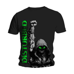 Disturbed T Shirt: Up Your Fist