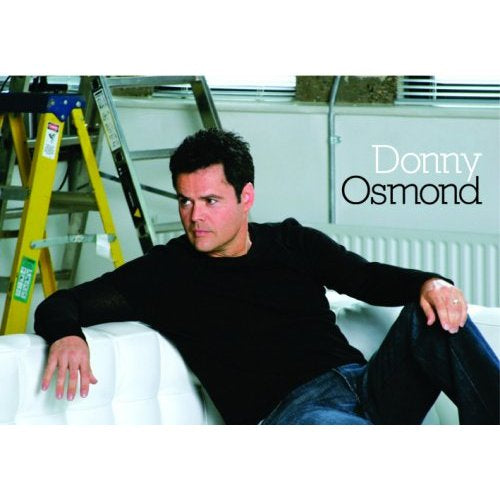 Donny Osmond Postcard: On Couch (Standard)