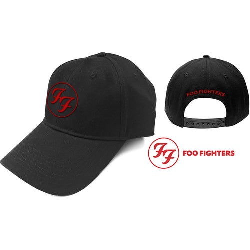 Foo Fighters Baseball Cap: Red Circle Logo