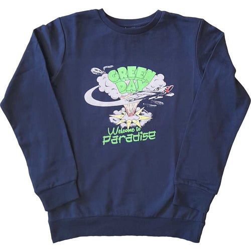 Green Day Kid's Sweatshirt: Welcome to Paradise (Youth's Fit)