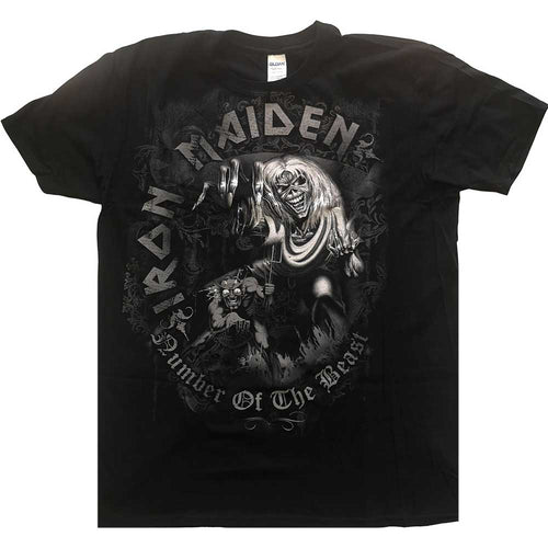 Iron Maiden Kids T Shirt: Number of the Beast