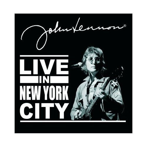 John Lennon Greeting Card: Live in New York City