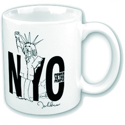 John Lennon Boxed Standard Mug: NYC Power to the People