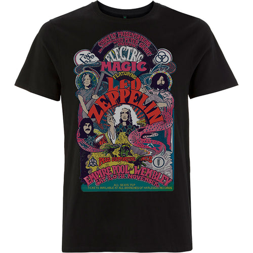 Led Zeppelin T Shirt: Full Colour Electric Magic