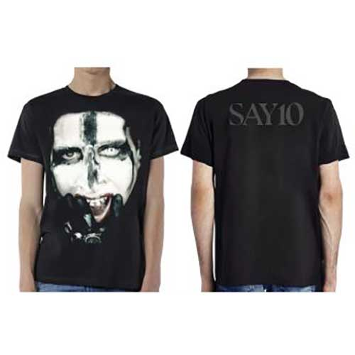 Marilyn Manson T Shirt: Kill For Me (Ex Tour/Back Print)