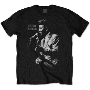 Muddy Waters T Shirt: Muddy Live
