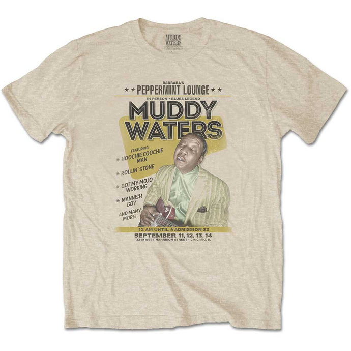 Muddy Waters T Shirt: Peppermint Lounge