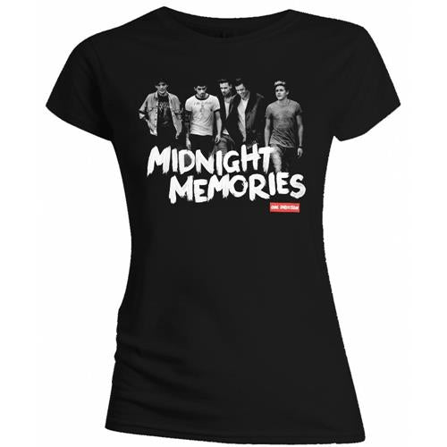 One Direction Ladies T Shirt: Midnight Memories (Small)