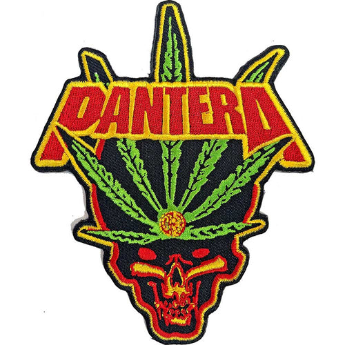 Pantera Standard Patch: Leaf Skull
