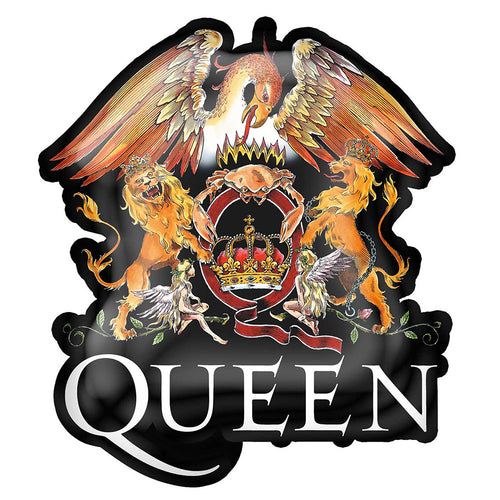 Queen Pin Badge: Crest