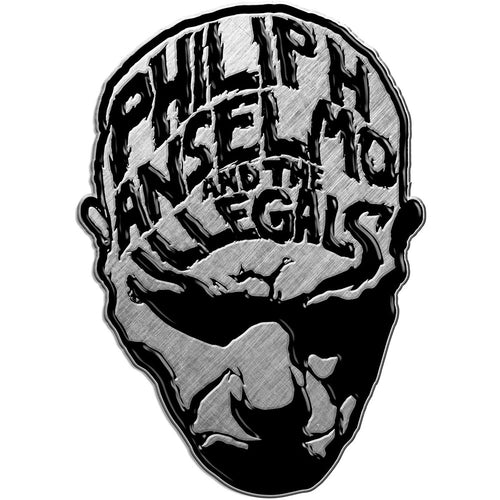 Philip H. Anselmo & The Illegals Pin Badge: Face