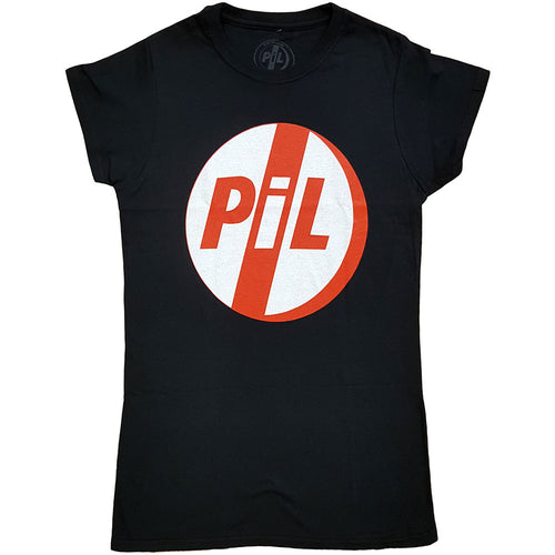 PIL (Public Image Ltd) Ladies T Shirt: Logo