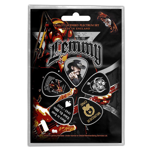 Lemmy Plectrum Pack: Stone Death Forever