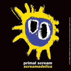 Primal Scream Single Cork Coaster: Screamadelica