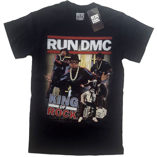 Run DMC T Shirt: King of Rock Homage