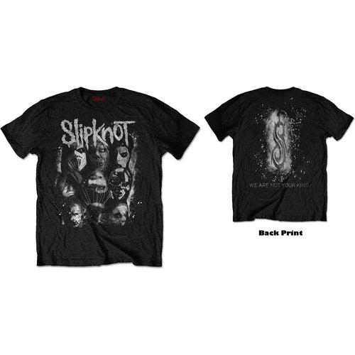 Slipknot T Shirt: WANYK White Splatter (Back Print)