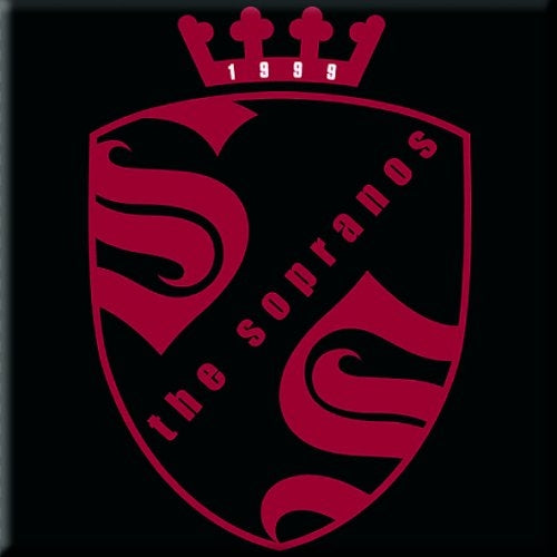 The Sopranos Fridge Magnet: Crest Logo