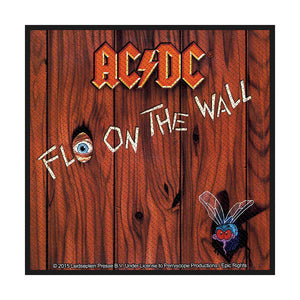 AC/DC Standard Patch: Fly on the Wall (Loose)
