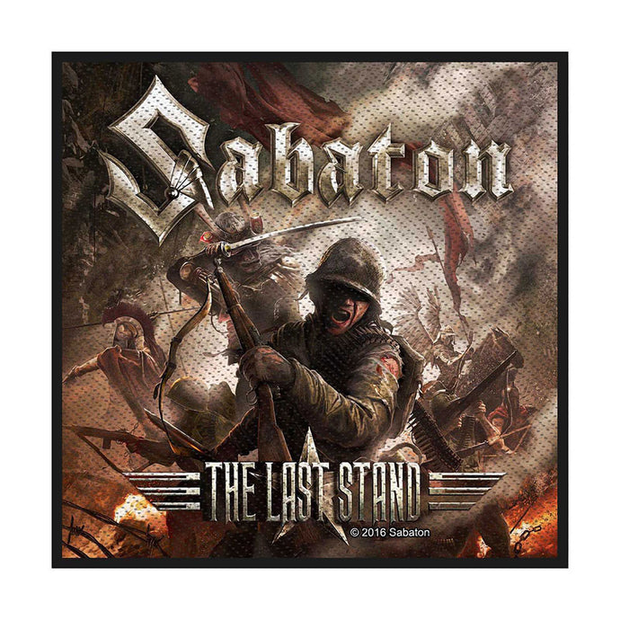 Sabaton Standard Patch: The Last Stand (Loose)