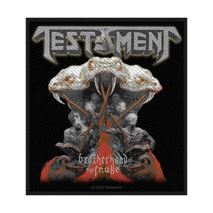 Testament Standard Patch: Brotherhood of the Snake (Loose)