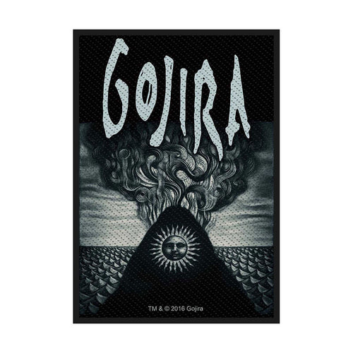 Gojira Standard Patch: Magma (Loose)