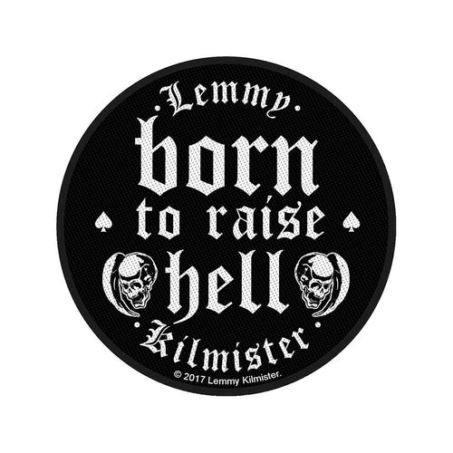 Lemmy Standard Patch: Born to Raise Hell (Loose)