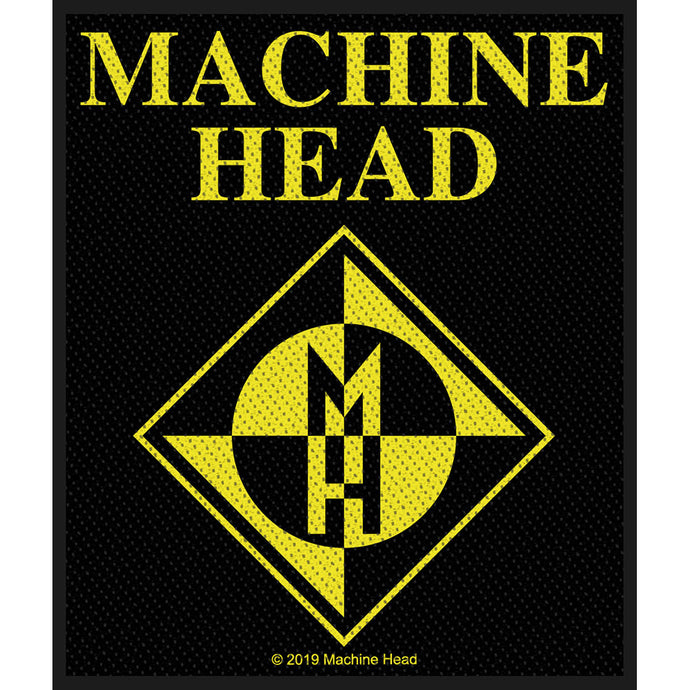 Machine Head Standard Patch: Diamond Logo (Loose)