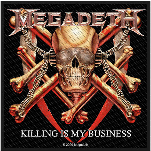 Megadeth Standard Patch: Killing Is My Business
