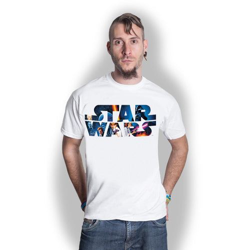 Star Wars T Shirt: Space Montage 3.