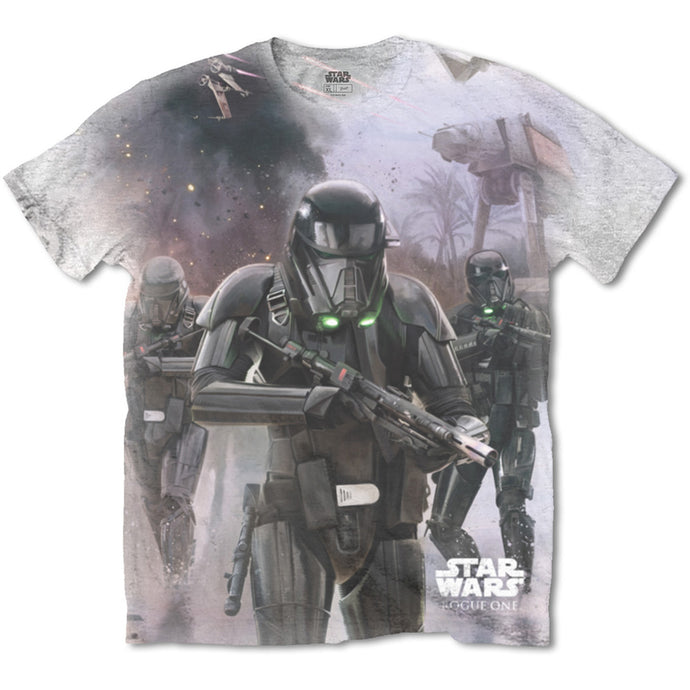 Star Wars T Shirt: Rogue One Death Trooper (Sublimation Print)