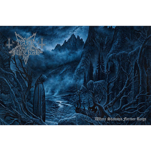 Dark Funeral Textile Poster: Where Shadows Forever Reign