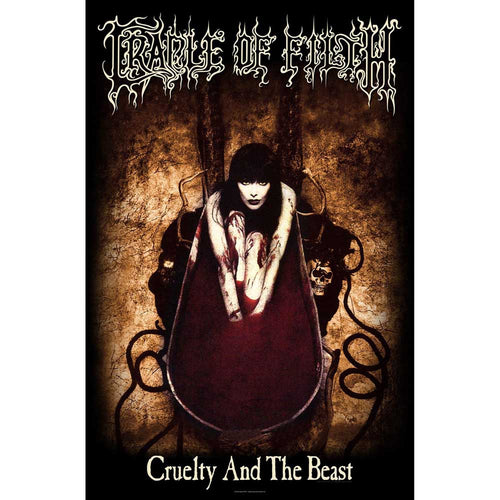 Cradle Of Filth Textile Poster: Cruelty And The Beast