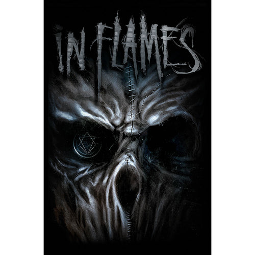 In Flames Textile Poster: Ghost