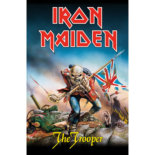 Iron Maiden Textile Poster: The Trooper