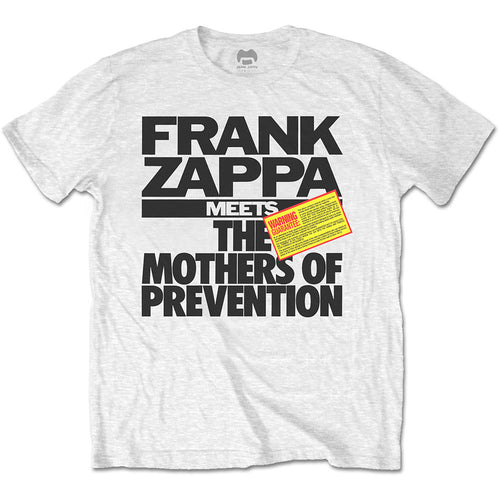 Frank Zappa T Shirt: The Mothers of Prevention