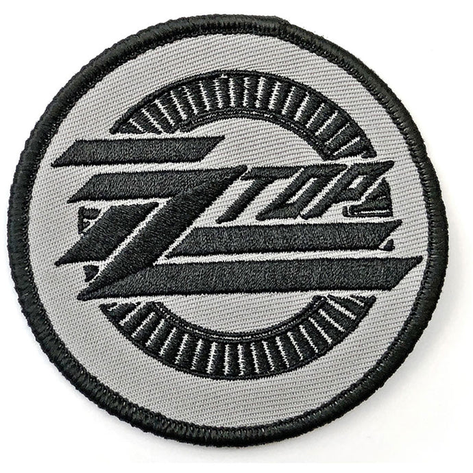 ZZ Top Standard Patch: Circle Logo (Patch)