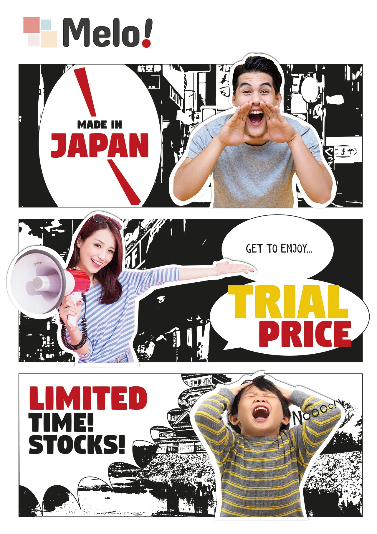Made in Japan, Trial Price, Limited Time & Stocks