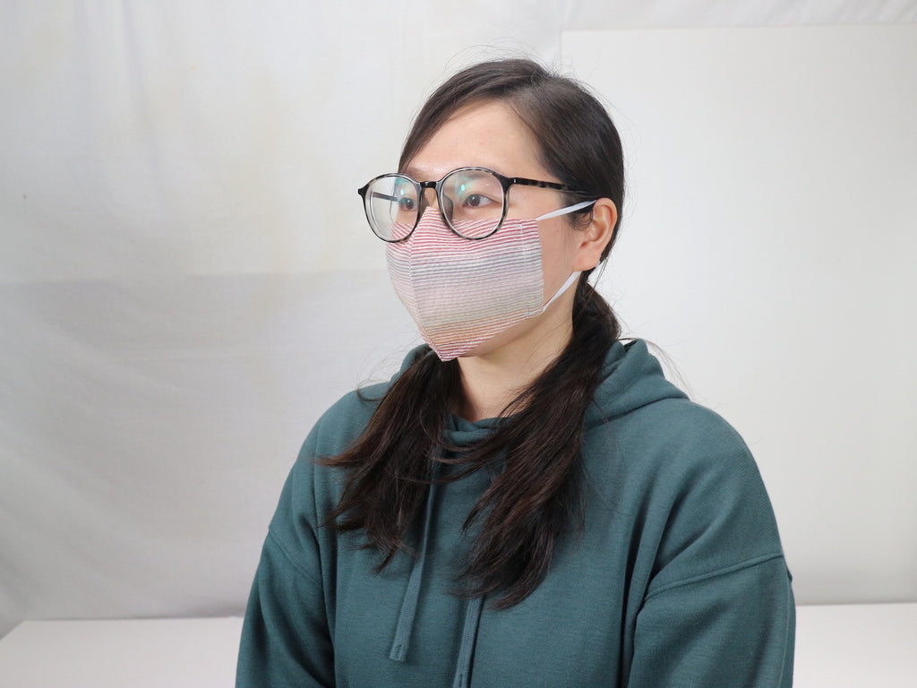 Awa Shijira Washable Mask (Available in Navy, Rainbow & Line-Grid) - Inclusive Shipping