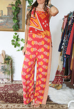 Load image into Gallery viewer, Kantha Dungarees L/XL