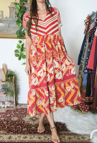 Kantha Dress S/M
