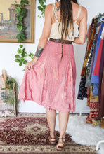 Load image into Gallery viewer, 90's Rose Gypsy Skirt