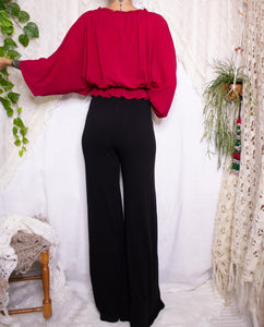 70s Batwing Blouse  XS-S