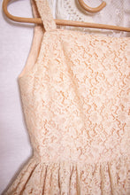 Load image into Gallery viewer, 50s lace sundress - XS