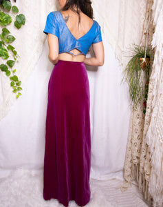 Cropped Indian choli top S