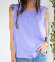 Load image into Gallery viewer, 80's casuals lavender tank M