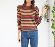 Load image into Gallery viewer, 70's style wool-blend sweater S