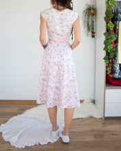 Load image into Gallery viewer, 1950s Fortuna Fabrics cotton day dress M